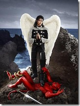 Archangel Michael - David LaChapelle