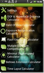 Photo  tools android calculator